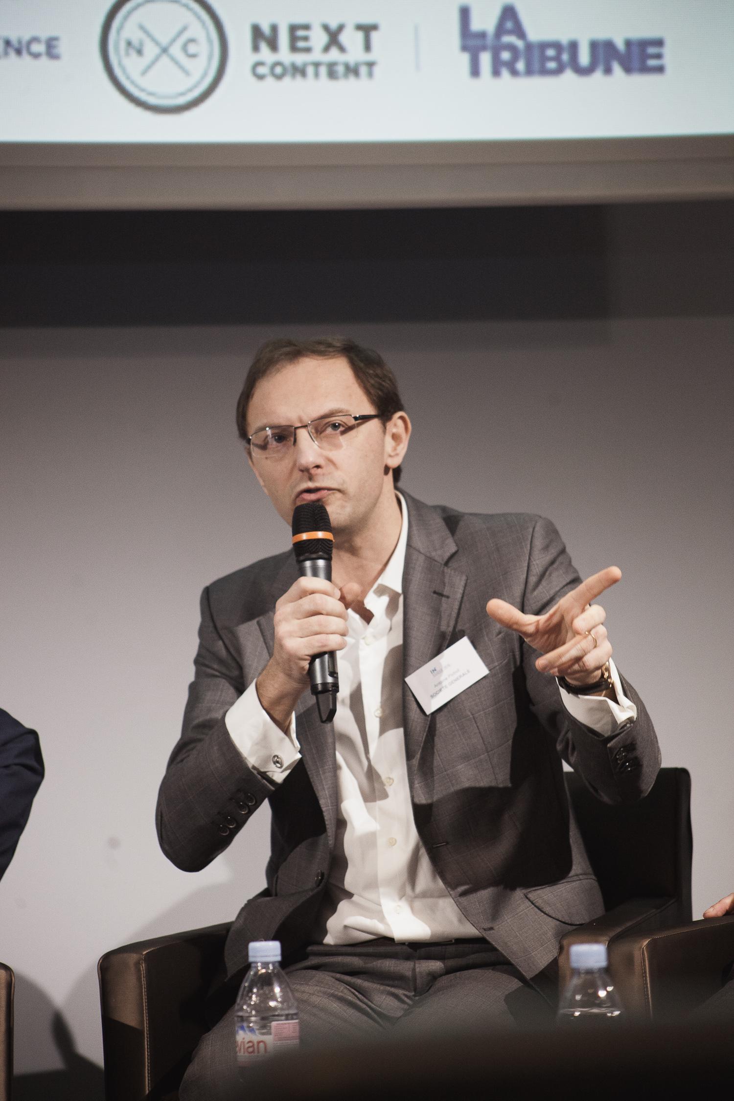 Antoine Pichot (Société Générale) - IN BANQUE 2016 - Crédit photo : Guillermo Gomez