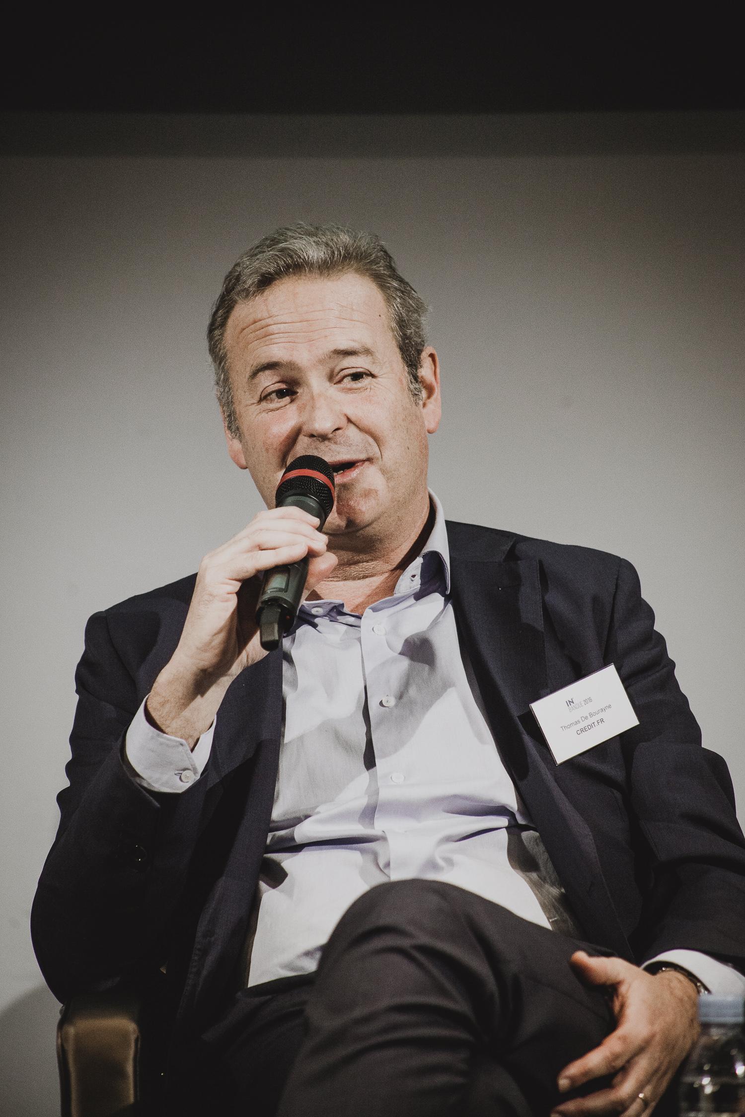 Thomas De Bourayne (Credit.fr) - IN BANQUE 2016 - Crédit photo : Guillermo Gomez