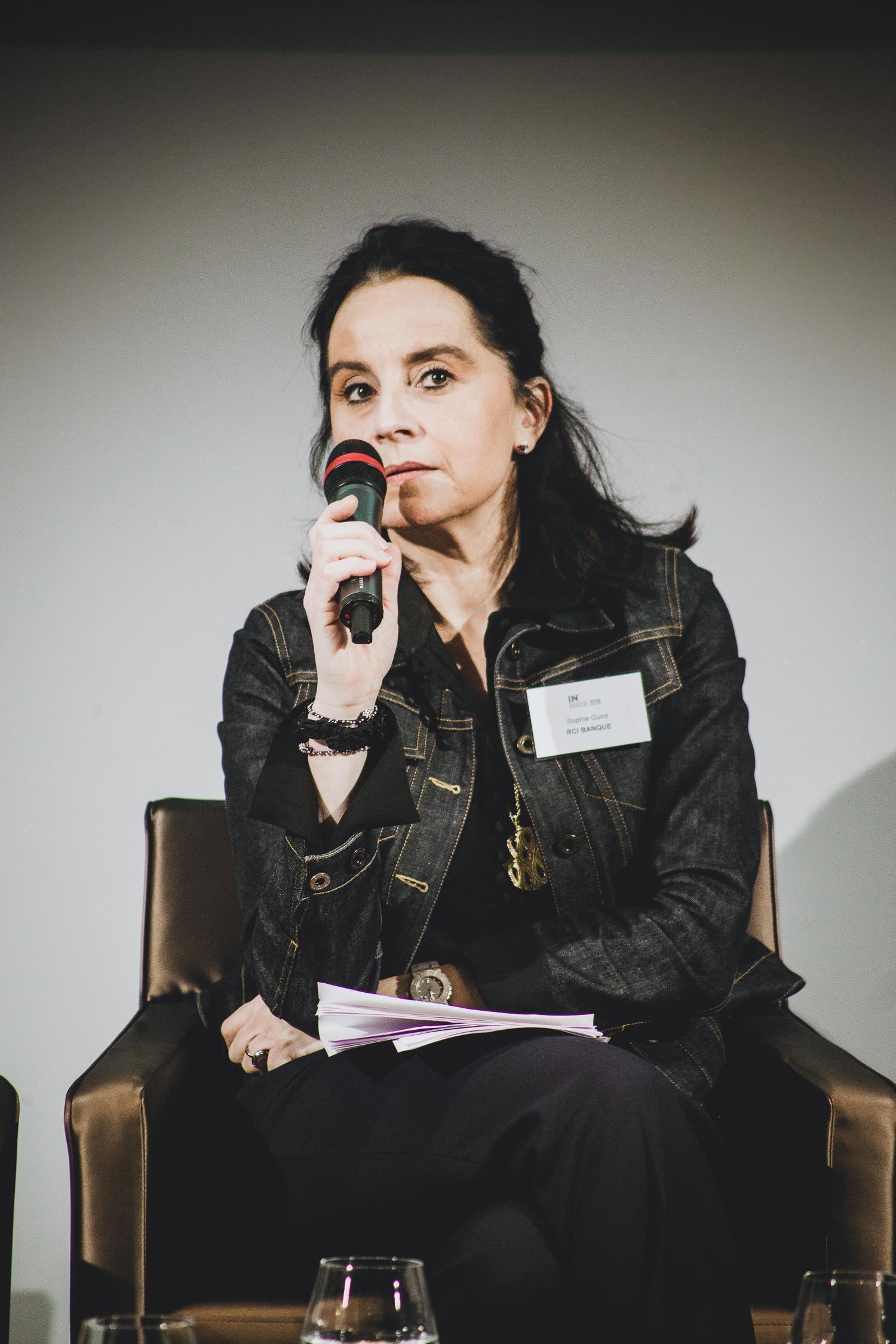 Sophie Guiot (RCI Banque) - IN BANQUE 2016 - Crédit photo : Guillermo Gomez