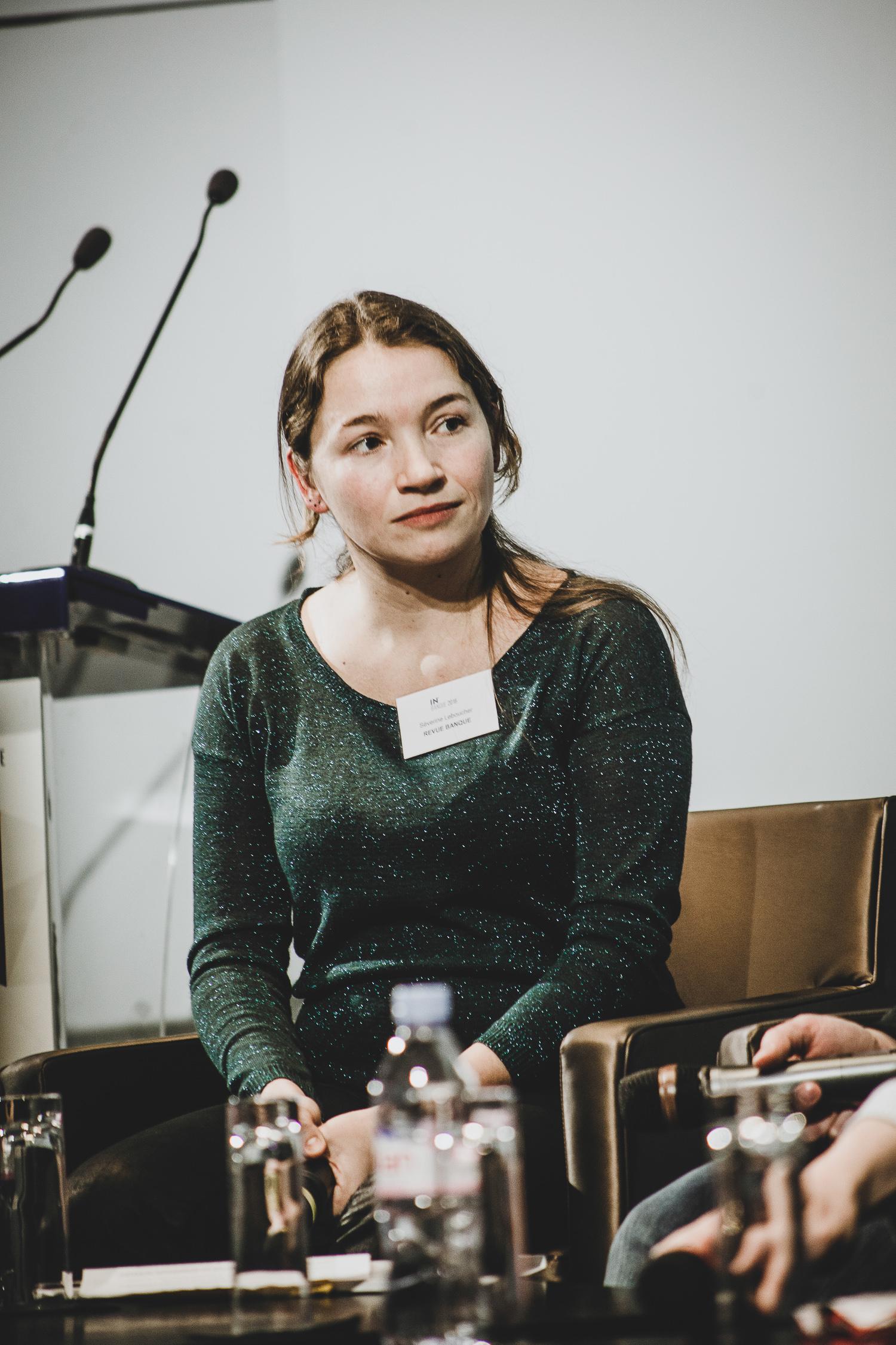 Séverine Leboucher (Revue Banque) - IN BANQUE 2016 - Crédit photo : Guillermo Gomez