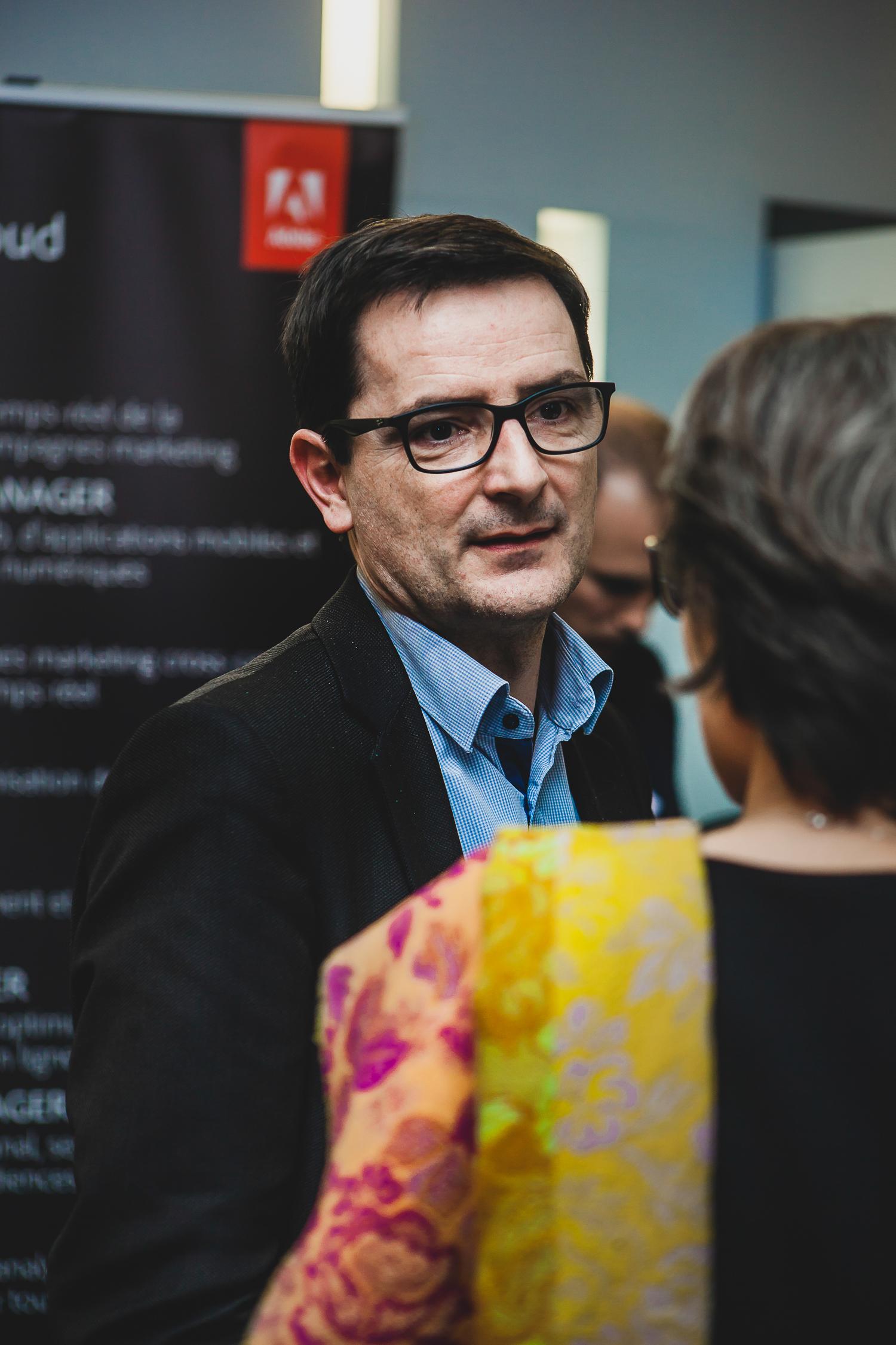 Stéphane Loire (Next Content) - IN BANQUE 2016 - Crédit photo : Guillermo Gomez