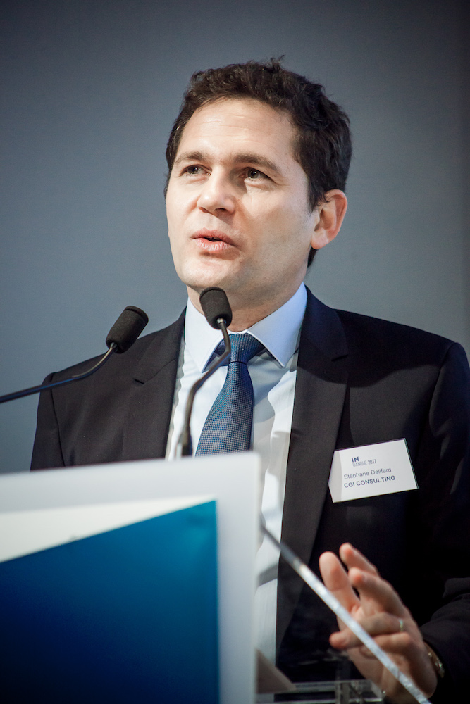 Stéphane Dalifard (CGI Business Consulting) - IN BANQUE 2017 - Crédit photo : Guillermo Gomez