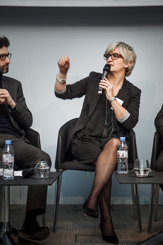 Nathalie Lavirotte (Crédit Mutuel Arkea) - IN BANQUE 2017 - Crédit photo : Guillermo Gomez
