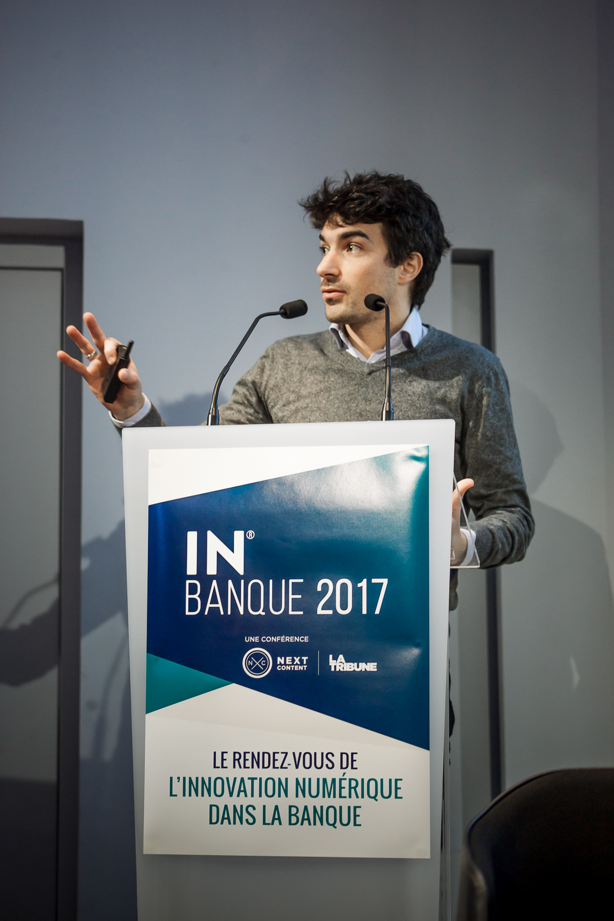 Joan Burkovic (Bankin') - IN BANQUE 2017 - Crédit photo : Guillermo Gomez