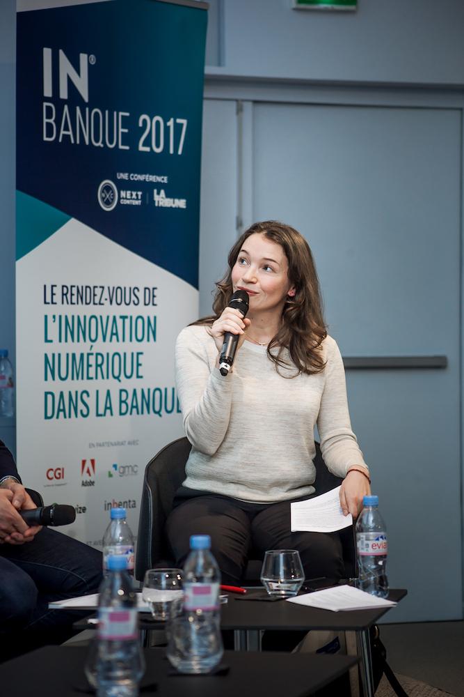 Séverine Leboucher (Revue Banque) - IN BANQUE 2017 - Crédit photo : Guillermo Gomez