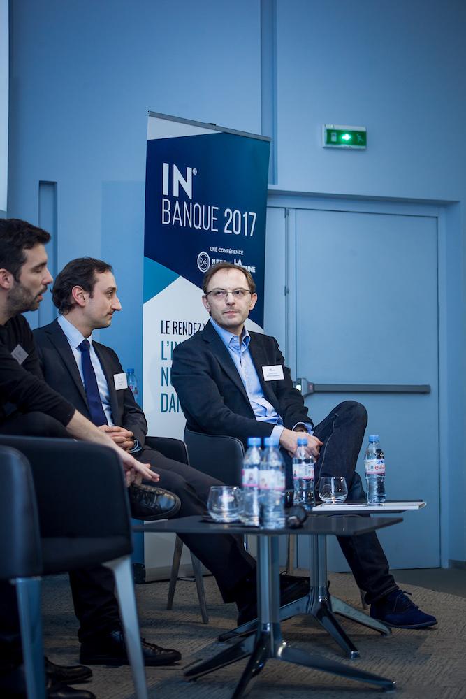 Antoine Pichot (Société Générale, à droite) - IN BANQUE 2017 - Crédit photo : Guillermo Gomez