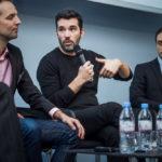 Sébastien d'Ornano (Yomoni, au centre) - IN BANQUE 2017 - Crédit photo : Guillermo Gomez