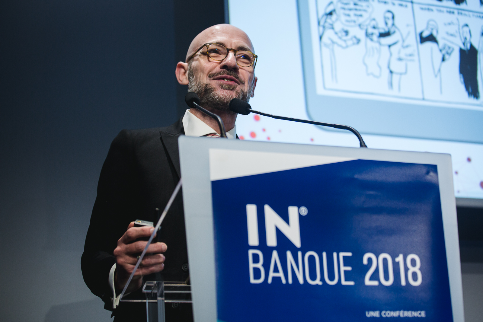 Philippe-Quentin Real (CGI Business Consulting) - IN BANQUE 2018 - Crédit photo : Guillermo Gomez