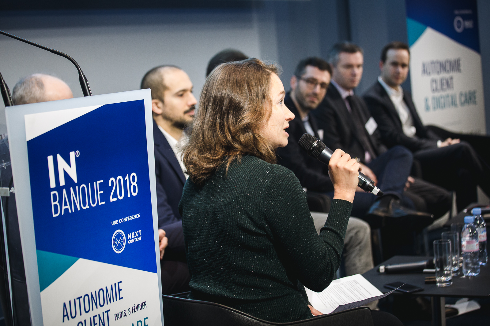 Séverine Leboucher (Revue Banque) - IN BANQUE 2018 - Crédit photo : Guillermo Gomez