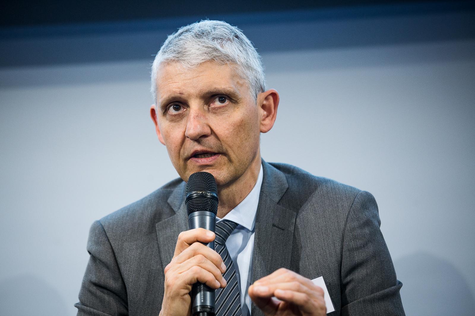 Olivier Gavalda (Crédit Agricole d'Île-de-France) - IN BANQUE 2018 - Crédit photo : Guillermo Gomez