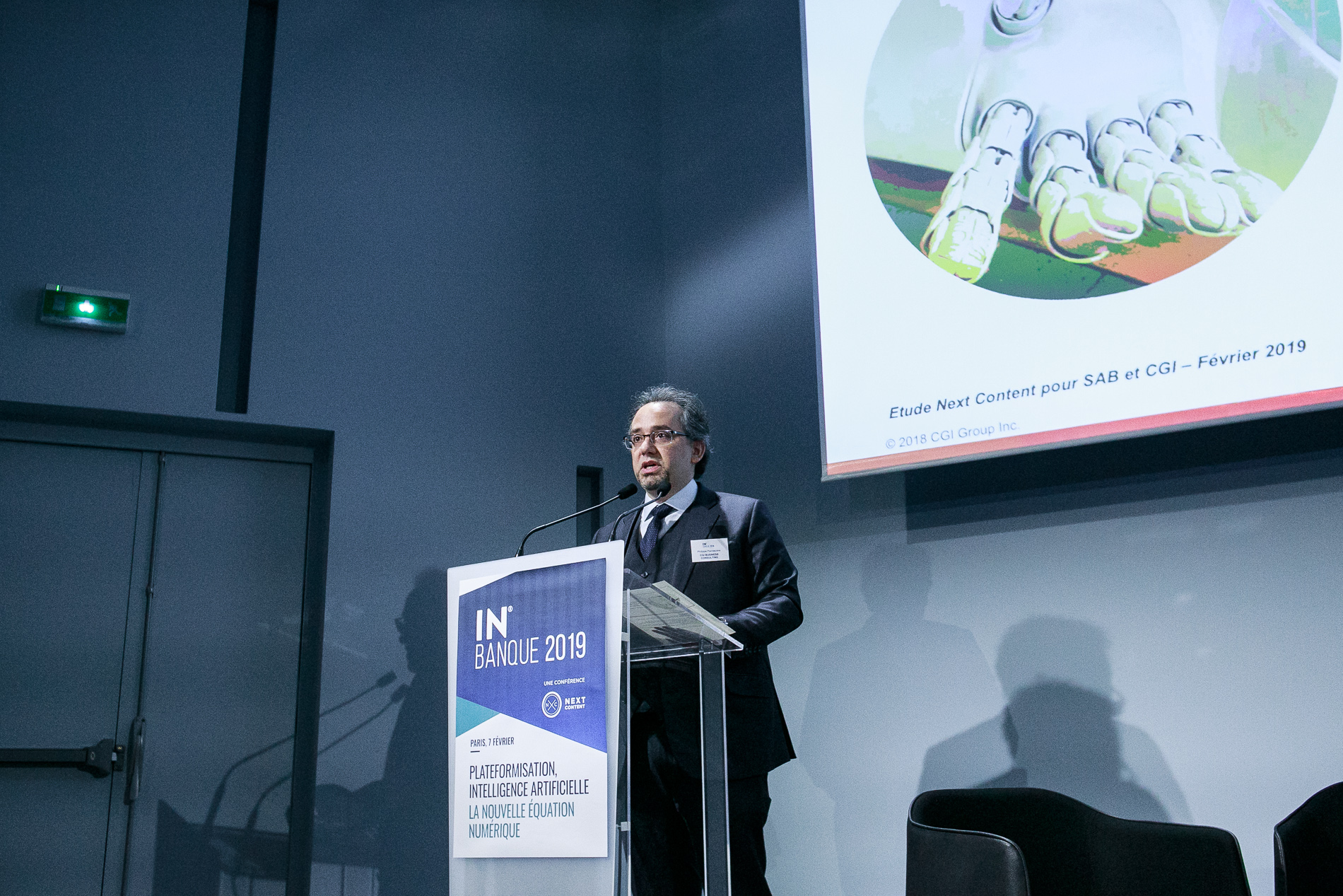 Philippe Pannecière (CGI Business Consulting) - IN BANQUE 2019 - Crédit photo : Guillermo Gomez