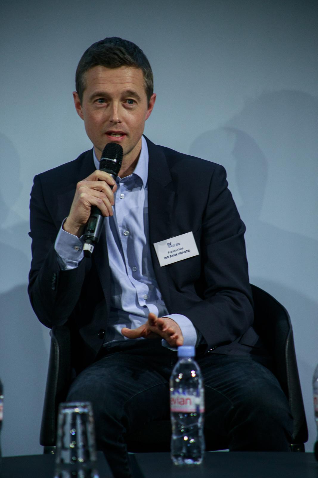 Frédéric Niel (ING Bank) IN BANQUE 2019 - Crédit photo : Guillermo Gomez