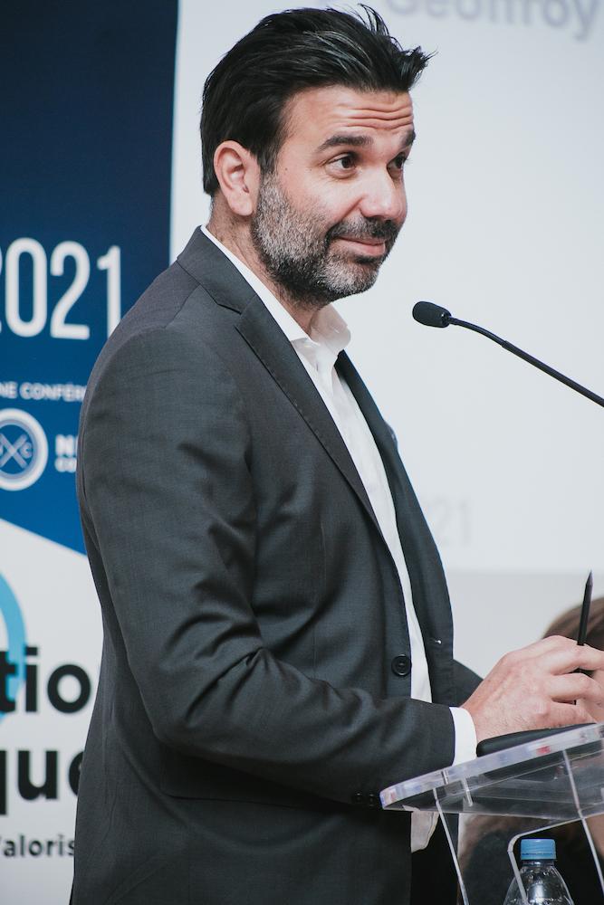 Julien Assouline (Capgemini Invent) - IN BANQUE 2021 - Crédit photo : Guillermo Gomez