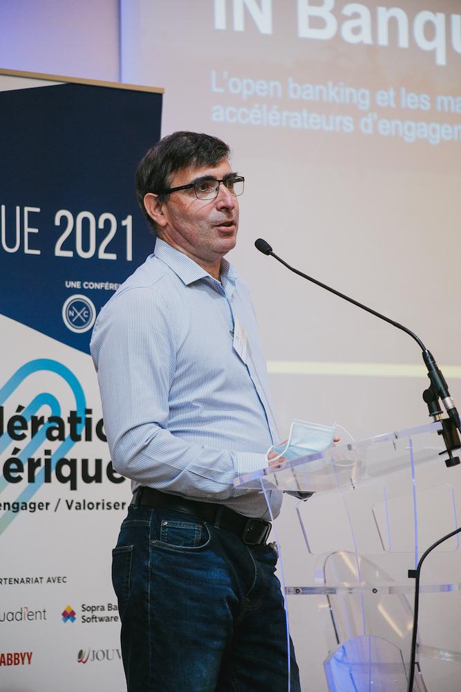 Guillaume Blot (Sopra Banking Software) - IN BANQUE 2021 - Crédit photo : Guillermo Gomez