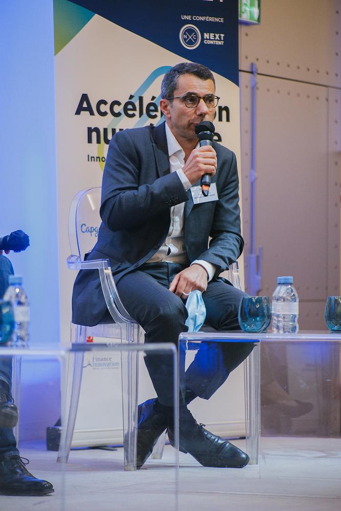 Romain Jérôme (Indosuez Wealth Management) - IN BANQUE 2021 - Crédit photo : Guillermo Gomez