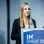Chloé Scheithauer (IESEG School of Management) - IN BANQUE 2020 - Crédit photo : Guillermo Gomez